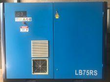 Foto ilustratida do produto Compressor Parafuso Lubrificado CompAir LB75RS – 100 CV – Velocidade Variável